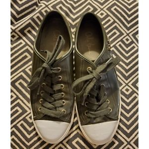 Cole Haan Patent Leather Tennis Shoes